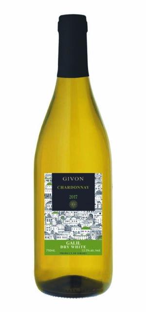 Givon Chardonnay, Galilee, Israel