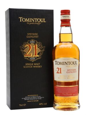 Tomintoul 21 Year Old, Scotch Whisky