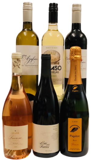 Mixed Case, Red, White and Rosé, Spanish Taste