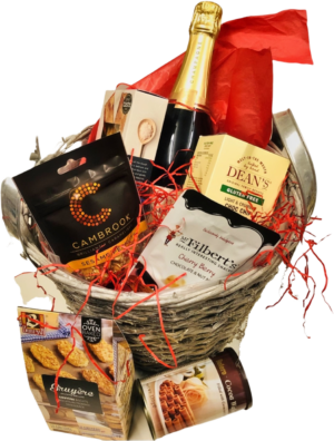 Champagne Hamper, And Artisan Delicious Goodies