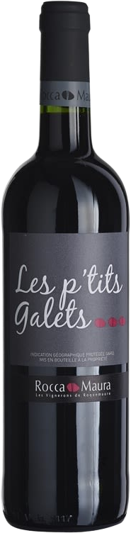 Les P'tits Galets red ,IGP Gard, Frnace
