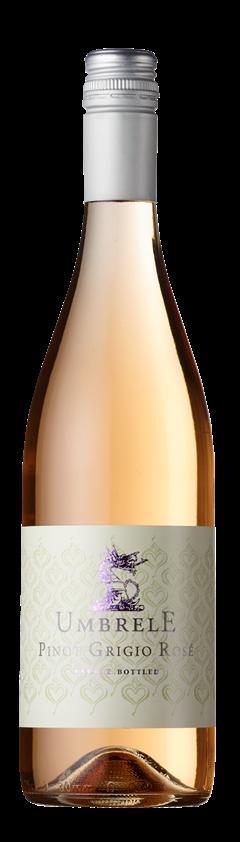 Pinot Grigio Rosé, Umbrele, Cramele Recas